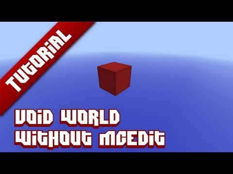 Minecraft Tutorial: Void world [NO MCEdit]