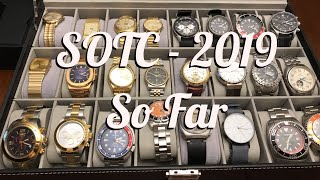 SOTC for 2019. So far!