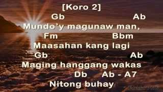 Dakilang katapatan (Tagalog) Chords and Lyrics