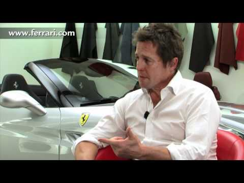 Hugh Grant at Ferrari.com
