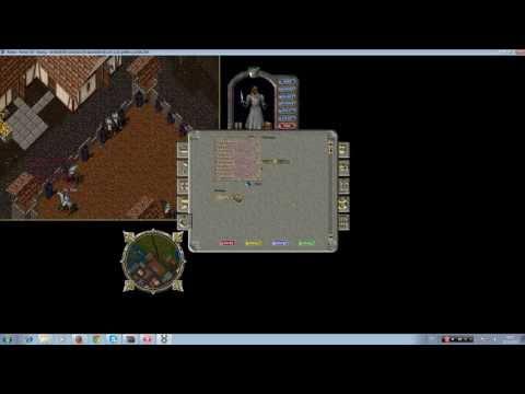 Ultima Online Serisi Lets Play 1b�l�m  Kay�t olma Karakter yaratma ve skill kas�m�