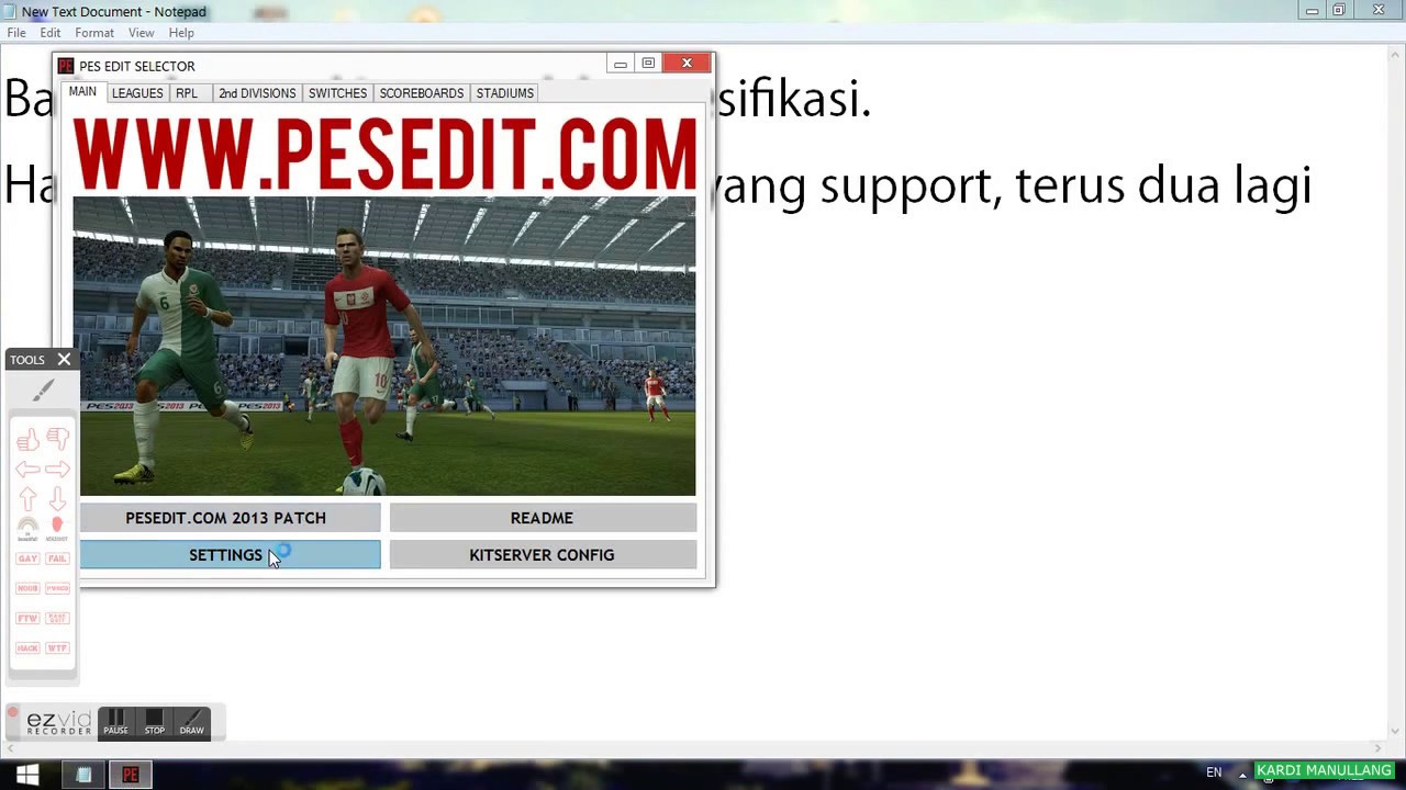 Cara menginstal PES 2013 di Laptop  YouTube