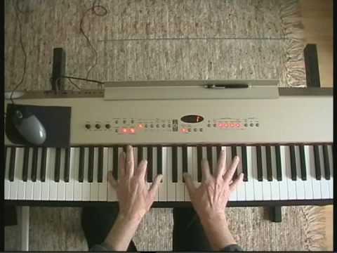 Georgia On My Mind - piano version - intermediate level