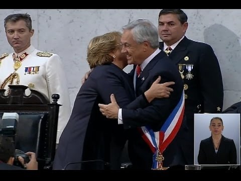 Cambio de mando: Michelle Bachelet asume como Presidenta
