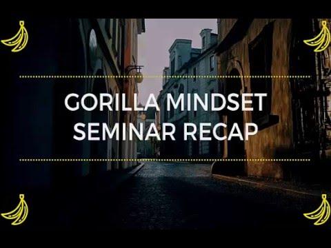 Gorilla Mindset Seminar with Mike Cernovich Recap