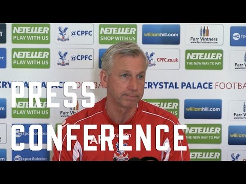 Alan Pardew pre Man City Press Conference