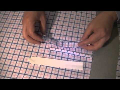 Attaching the placket on a shirt full video