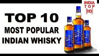 Top Ten Most Popular Indian Whisky  || India Top 10