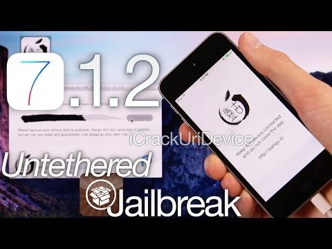 NEW Jailbreak 7.1.2 Untethered Pangu iOS 7.1.2 iPhone 5S.5C 4S.4.iPod Touch 5 & iPad Mini 2. Air 3.4
