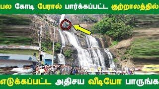 பல கோடி பேரால் பார்க்கப்பட்ட குற்றாலத்தில் எடுக்கப்பட்ட அதிசய வீடியோ பாருங்க| Tamil News |