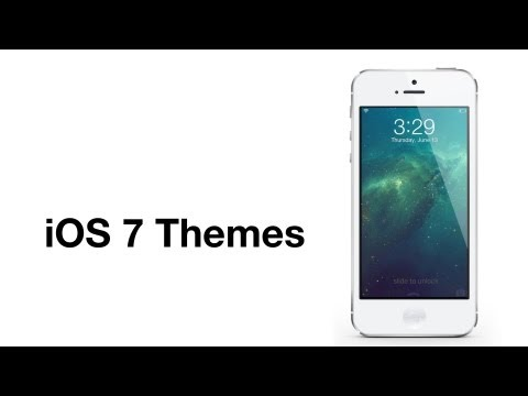 Cydia tweak: iOS 7 icons theme and iOS 7 Lock screen