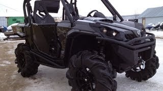 2013 Commander X 1000 Carbon Black Showroom Mud Build!