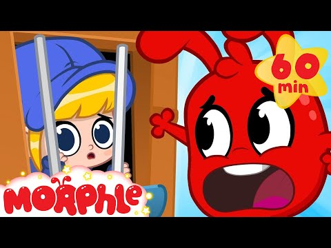 Oh no! Mila in jail! My Magic Pet Morphle Police Car Animation Episodes