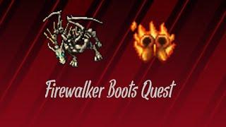 Poradnik Tibia | Firewalker Boots Quest