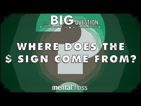 Where Does the $ sign come from? - The Big Question (Ep.5)