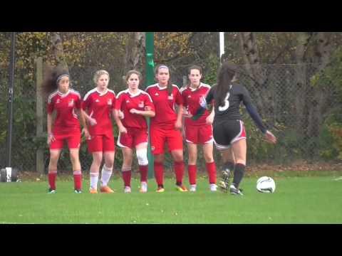 Girl's Soccer ISST 2015 - International School of Dusseldorf 1 - 1 Cairo American College