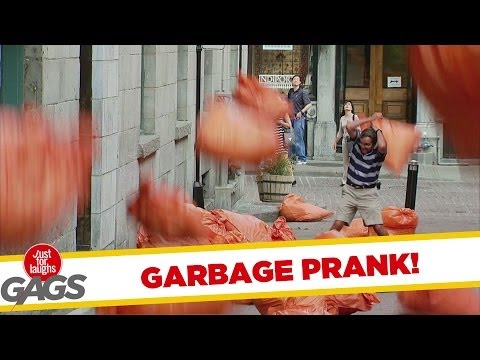 EXTREME GARBAGE PRANK TO THE MAX!