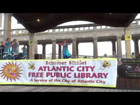 Atlantic City Library International Night Series featuring Nritya Creations on July 30, 2014