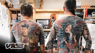 America's Biggest Japanese Tattoo Artists: Taki and Horitomo | Tattoo Age Episode 3