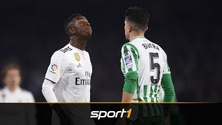 Marc Bartra attackiert Real-Juwel Vinicius Junior | SPORT1 - DER TAG