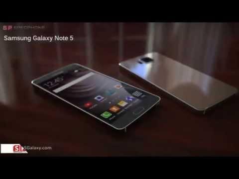 เรือธงต่อไป!!!! Samsung Galaxy Note 5 กับภาพ Concept Design ที่ดูยังไงก็หรูหรา