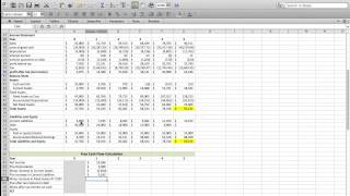 Chapter 7 - Calculating Free Cash Flow