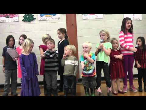 The Tiny People Caroling Squad 2014