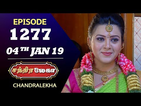 CHANDRALEKHA Serial | Episode 1277 | 04th Jan 2019 | Shwetha | Dhanush | Saregama TVShows Tamil