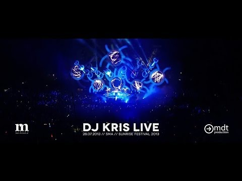 Sunrise Festival 2013    Dj Kris Live    Sma video