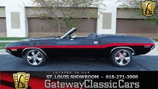 1970 Dodge Challenger Stock #7117 Gateway Classic Cars St. Louis Showroom