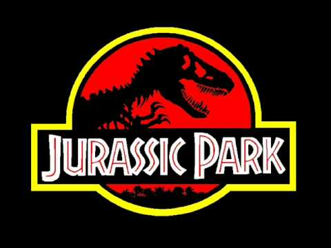 Jurassic Park theme song. Video
