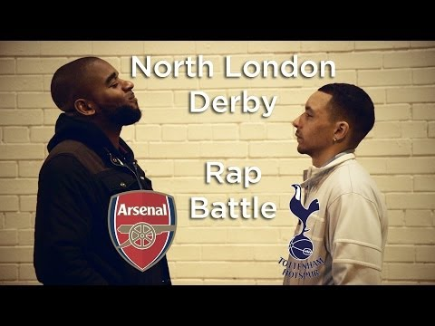 Tottenham v Arsenal - Rap Battle | Lock Smyth (Arsenal) v Tony D (Spurs)