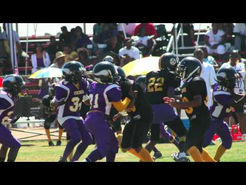 Compton Vikings vs Pamona Steelers Slides Video