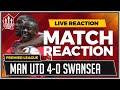 Swansea City 0-4 Manchester United | BAILLY, LUKAKU, POGBA, MARTIAL Goals Win It!