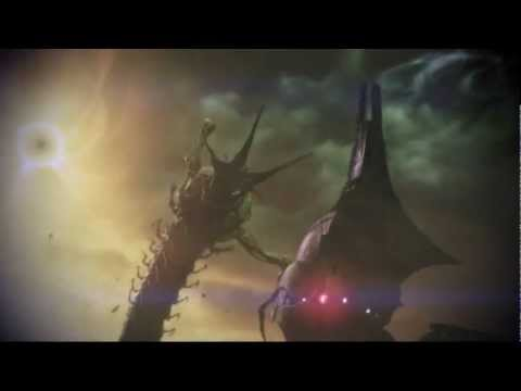 Mass Effect 3: Thresher Maw vs Reaper (HD)