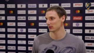 Юрий Александров: «Готов играть и выкладываться за команду»