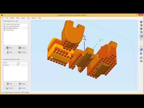 Simplify3D (Software for 3D Printing) Demo and Review (3D Universe)