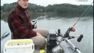рыбалка троллингом с эхолотом видео
