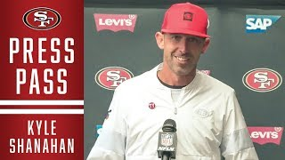 Kyle Shanahan Recaps 49ers Victory over the Saints | 49ers