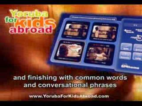 Yoruba Kids Abroad-Learn Yoruba In 27 Days - Yoruba Language Software Video