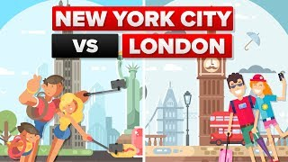 New York City vs London - City Comparison