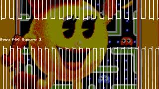 Act 3: Junior - Ms. Pac-Man - Sega Master System -