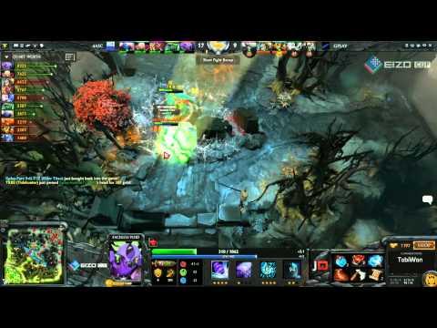 4ASC vs Gplay Game 2  EIZO Cup Final w TobiwanDota