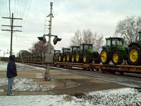 The Tractor Train - A Must See!
