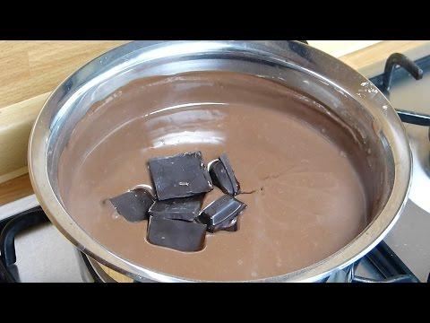 Шоколадный крем рецепт - Шоколадная глазурь