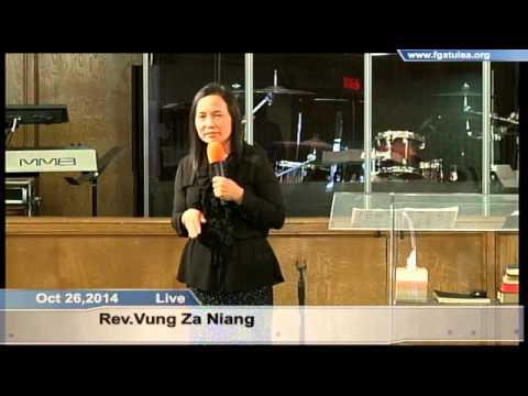 [FGATulsa]#1071#Oct 26,2014 Zomi Service (Pastor Vung  Niang