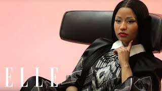 Nicki Minaj is Back in this ELLE Cover Shoot by Karl Lagerfeld | ELLE