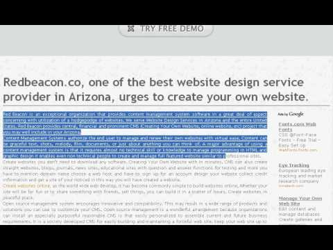 0 Redbeacon.co   Creating Your Own Website | Website Design Services