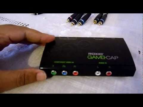 Roxio Game Capture Set Up for PS3