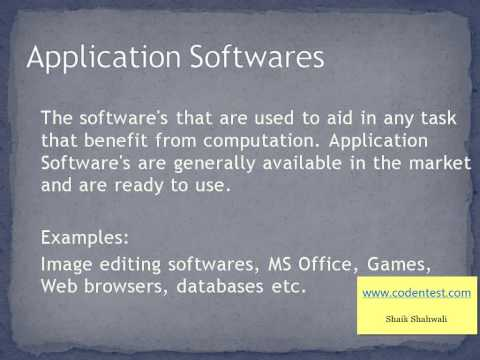 Software and its types